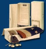 Antiqued Betsy Ross Flag