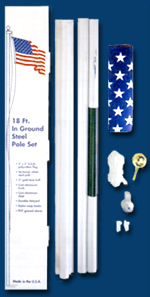 In-Ground Flag Pole Kit